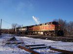 Loaded Detroit Edison train